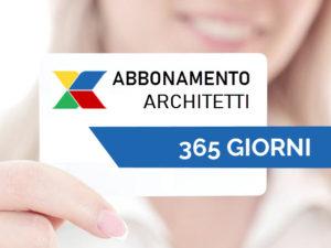 xclima abbonamento architetti 365 giorni