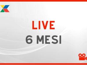 Abbonamento LIVE 6 Mesi