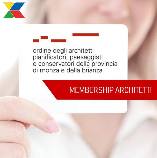 xclima membership architetti monza