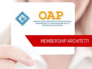 Membership OAPPC Pistoia
