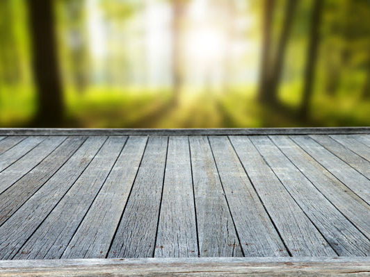 pavimentazione a base legno