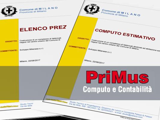 acca primus computo metrico