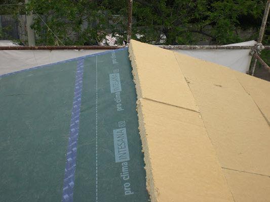 il tetto inclinato a bassa pendenza